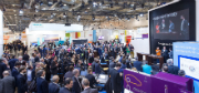 Volle Hallen auf der E-world energy & water 2017.