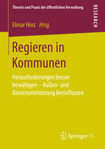 Neuerscheinung: Regieren in Kommunen.
