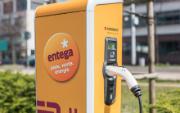 100 Ladesäulen für E-Mobile will ENTEGA in diesem Jahr in Südhessen errichten.