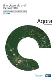 Mit dem Band Energiewende und Dezentralität will Agora Energiewende laut eigenen Angaben eine Grundlage für die politische Debatte liefern.