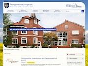 Die neue Website der Samtgemeinde Lengerich ist modern, strukturiert und übersichtlich.