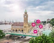 Hamburg und Deutsche Telekom vernetzen innerstädtischen Parkraum.