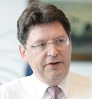 Reinhard Meyer, Schleswig-Holsteins Minister für Wirtschaft, Arbeit, Verkehr und Technologie.