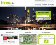 Frankfurter Verkehrsportal Mainziel: Verkehrsinfos jetzt auch über Twitter.
