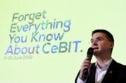 Oliver Frese, Vorstand der Deutschen Messe, kündigt ein grundlegend neues Konzept für die CeBIT an.