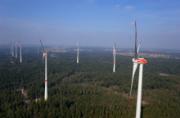 Der Windpark Ellwanger Berge ist einer der größten in Baden-Württemberg.