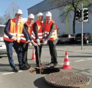 Offizielle Inbetriebnahme der Fernwärmeversorgung in Eching.