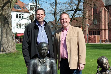 ISGUS und Lampertheim arbeiten gut zusammen.