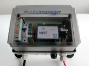 Die ALL-IP-Box der Firma wpd windmanager erlaubt eine Anbindung von Windparks auch nach Abschaltung des Telefonanschlusses.