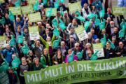 Das Bündnis Bürgerenergie schaute schon auf dem Konvent 2015 mit Mut in die Zukunft.