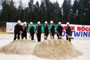 Spatenstich im neuen Wald-Windpark Workerszeller Forst.