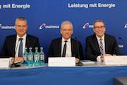 Auf der Bilanz-Pressekonferenz zeigte sich der Mainova-Vorstand zufrieden mit dem Geschäftsjahr 2016.
