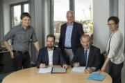 Kommune und Stadtwerke Husum haben eine Kooperation für den Umbau der Wärmeversorgung in vier städtischen Liegenschaften vereinbart.