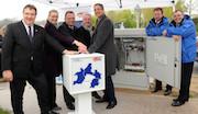 Mit der Netzeröffnung in Knüllwald-Remsfeld ist das erste Teilstück der Datenautobahn für Nordhessen an den Start gegangen.