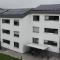 Photovoltaik-Module liefern Mieterstrom im Hagellocher Weg in Tübingen.