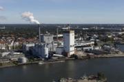 Das neue Hybridspeicherkraftwerk soll am Kraftwerksstandort Hastedt entstehen. Seine zentrale Lage ist günstig für eine Anbindung an die Fernwärme.