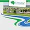 Ganz in grün und blau: Das Wappen der Gemeinde Lossatal hat die Farbgebung der Website beeinflusst.