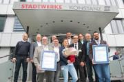 Die Stadtwerke Konstanz freuen sich über die TSM-Zertifizierung.