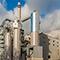Das Biomasseheizkraftwerk erzeugt Strom und Wärme aus naturbelassener Biomasse und Altholz, überwiegend aus der Sperrmüllsammlung im Rhein-Main-Gebiet.