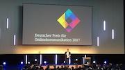 Die Internet-Seite des Deutschen Bundestags erhält den Deutschen Preis für Onlinekommunikation 2017 in der Kategorie Nachhaltige Kommunikation.
