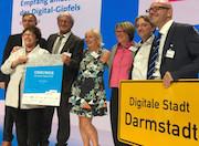 Darmstadt ist Sieger des Wettbewerbs Digitale Stadt.