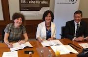 Der Beitritt Baden-Badens zum 115-Verbund ist besiegelt.