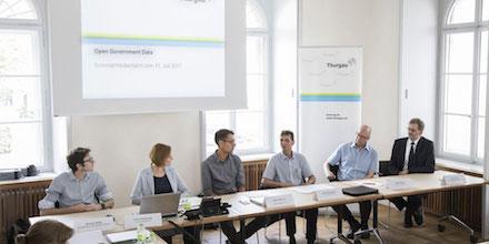 Der Kanton Thurgau diskutiert über die Öffnung seines Datenschatzes.