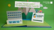 Den Geschäftsbericht 2016 als Animationsfilm – in der Optik eines Aufklappbuches.