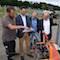 Die Bauarbeiten am Solarpark in Bottrop haben begonnen.