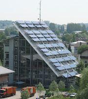Das Solarkraftwerk auf dem Gebäude der Entsorgungsbetriebe Konstanz (EBK) wurde außer Betrieb genommen.