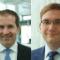 Kaufmännischer Leiter Gerhard Ilg und Patrick Kruppa, Leiter Portfolio-, Erzeugungs- und Last-Management bei SüdWestStrom.