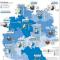 Zusammensetzung des Strommixes in den Bundesländern.