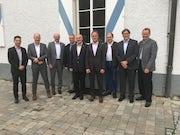Die Bürgermeister der Verwaltungsgemeinschaft Glonn freuen sich auf das kommende Glasfasernetz.