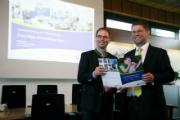 Pressekonferenz zur Übernahme der Strom- und Gasnetze in Olching.