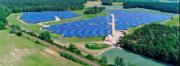 Die neue Photovoltaikanlage in Frauendorf im Landkreis Spree-Neiße umfasst auf einer Fläche von 17 Hektar 31.200 Solarmodule.