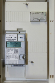 Zähler mit Gateway aus einem der drei Feldtests von EnBW mit Netze BW.