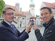 Die App Entdecke Braunschweig wartet jetzt mit Augmented-Reality-Funktion auf.
