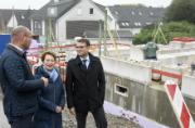 Stellen das Neubauprojekt Eulenhorst vor: