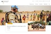 Das Bundesministerium der Verteidigung präsentiert seinen neuen und verbesserten Web-Auftritt.