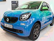 Ab 79 Euro pro Monat können Ökostrom-Kunden jetzt einen Smart electric drive bei GASAG leasen.