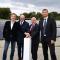 Feierliche Inbetriebnahme des neuen Rostocker Photovoltaikkraftwerks.