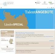 Auf dem Portal finden die Nutzer nun auch Förderangebote aus Mecklenburg-Vorpommern.
