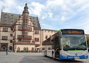 IVU Traffic Technologies lieferte den Stadtwerken Schweinfurt die Hard- und Software für ein modernes E-Ticketing-System in den Linienbussen.