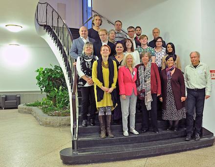 Das Berliner Arbeitsgremium zur Entwicklung der Leitlinien für Bürgerbeteiligung.