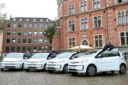Oldenburg: Klimafreundlicher Fuhrpark verfügt jetzt über vier E-Kleinwagen.
