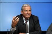 Digitalisierungsminister Thomas Strobl stellt die Maßnahmen zur Umsetzung der Digitalisierungsstrategie digital@bw vor.