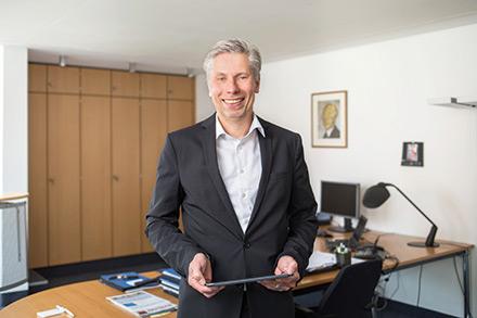 Bernd Landgraf ist Geschäftsführer der ITEBO-Unternehmensgruppe.
