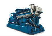 Das neue MWM TCG 3016 Aggregat von Caterpillar Energy Solutions.