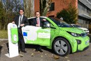 Stadtwerk am See geht in Sachen E-Mobilität mit gutem Beispiel voran.