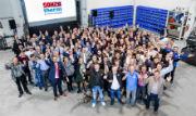 40 Jahre Sokratherm: Insgesamt 130 Mitarbeiter sind inzwischen für den BHKW-Spezialisten tätig.